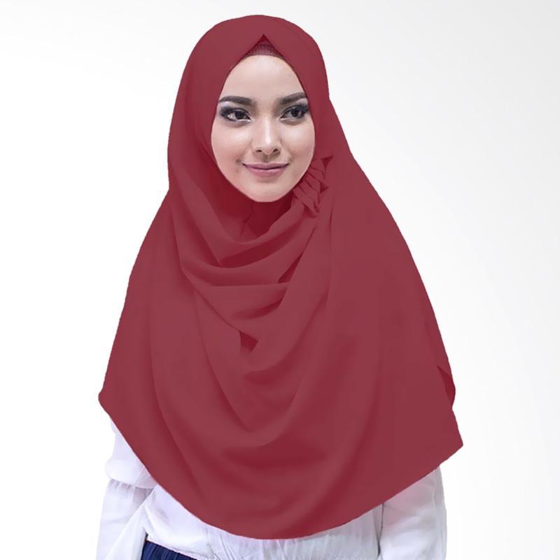 Milyarda Hijab LCB Laudya Jilbab Instan - Maroon