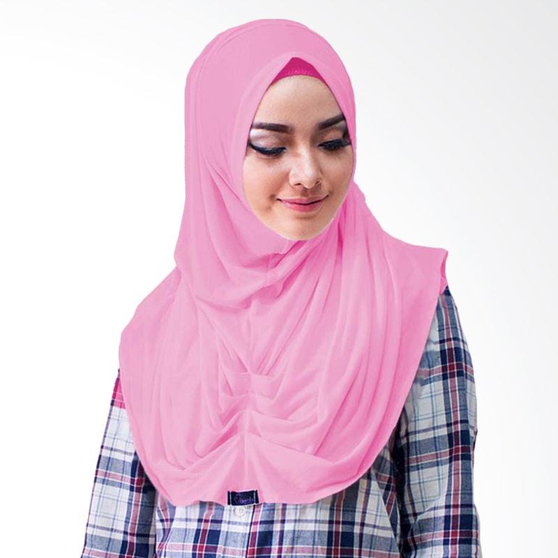 Milyarda Hijab Loly Jilbab Instant - Dusty Pink