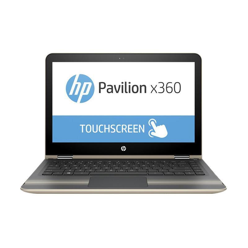 harga HP 14-BA006TX Notebook - Gold [Intel Core i7-7500U/ 8GB/ 1TB+128GB SSD/ GT940MX 2GB/ 14 Inch TS/ Win10] Blibli.com