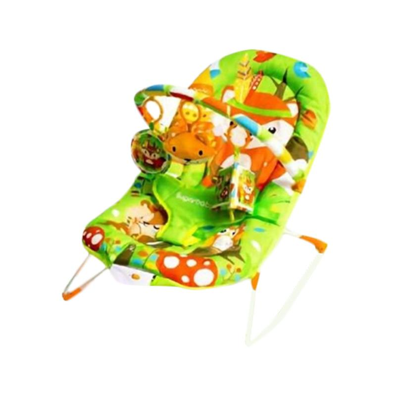 Sugar Vaby Fox Baby Bouncher - Green