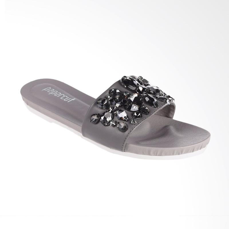 Papercut Shoes Long Xin Big Stone Slide Sandal Wanita