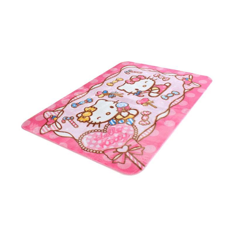Hello Kitty HK Candy Karpet - Pink [130 x 190 cm]