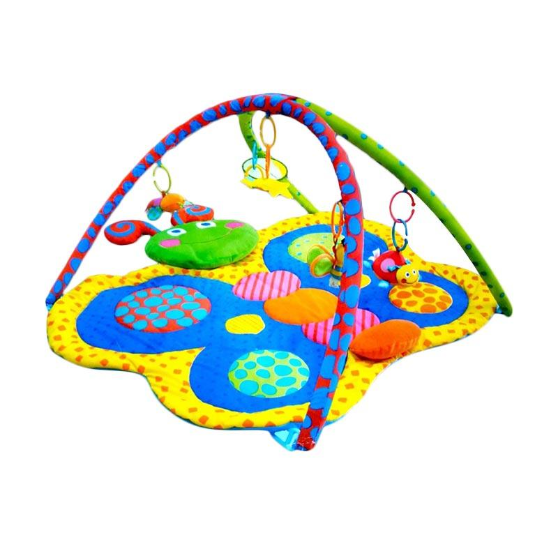Chanel7 Playmat Pliko Playgym Butterfly Mainan Bayi