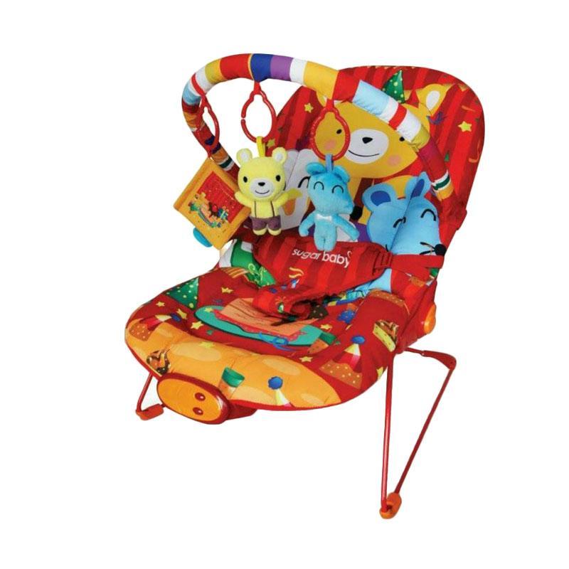 Sugar Baby Premium Healthy Bouncer Bear Tempat Tidur Bayi - Merah