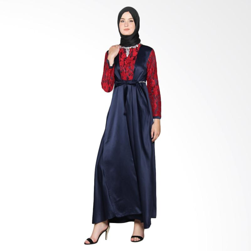 Yanna Azwar Malaya Dress Muslim - Navy