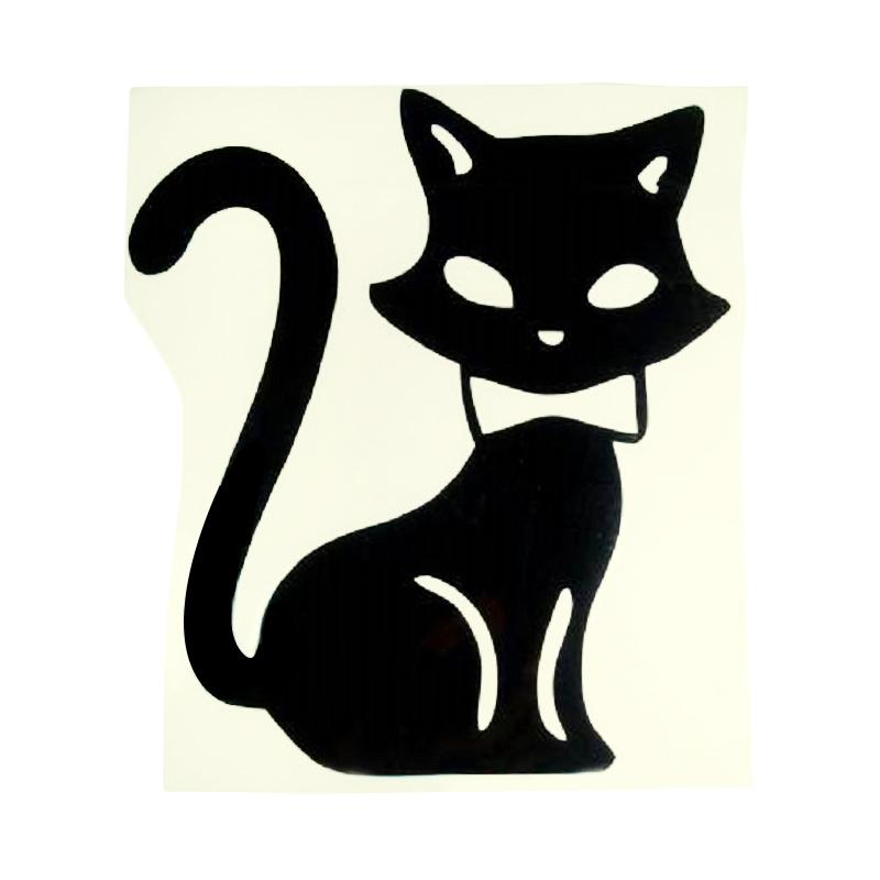 OEM Motif Kucing Besar Decal Wall Stiker Dekorasi Saklar Lampu