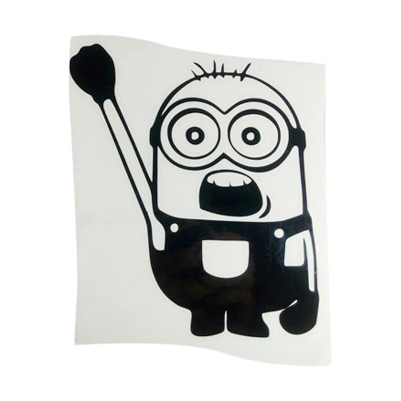 OEM Motif Minion Despicable Me Hanging Sticker