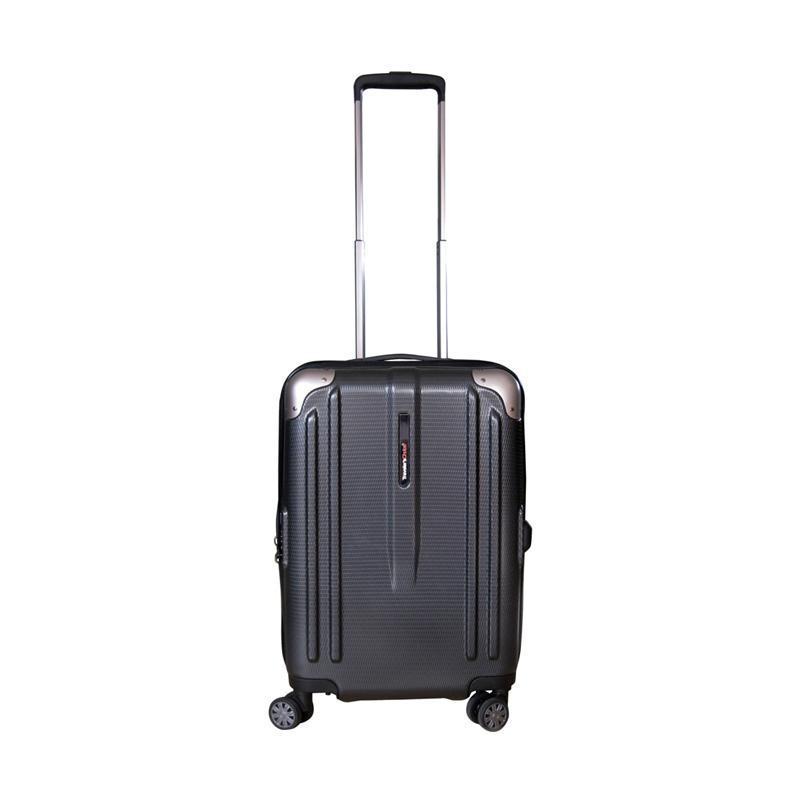Traveler's Choice New London Hardcase Small Koper - Grey [21 Inch]
