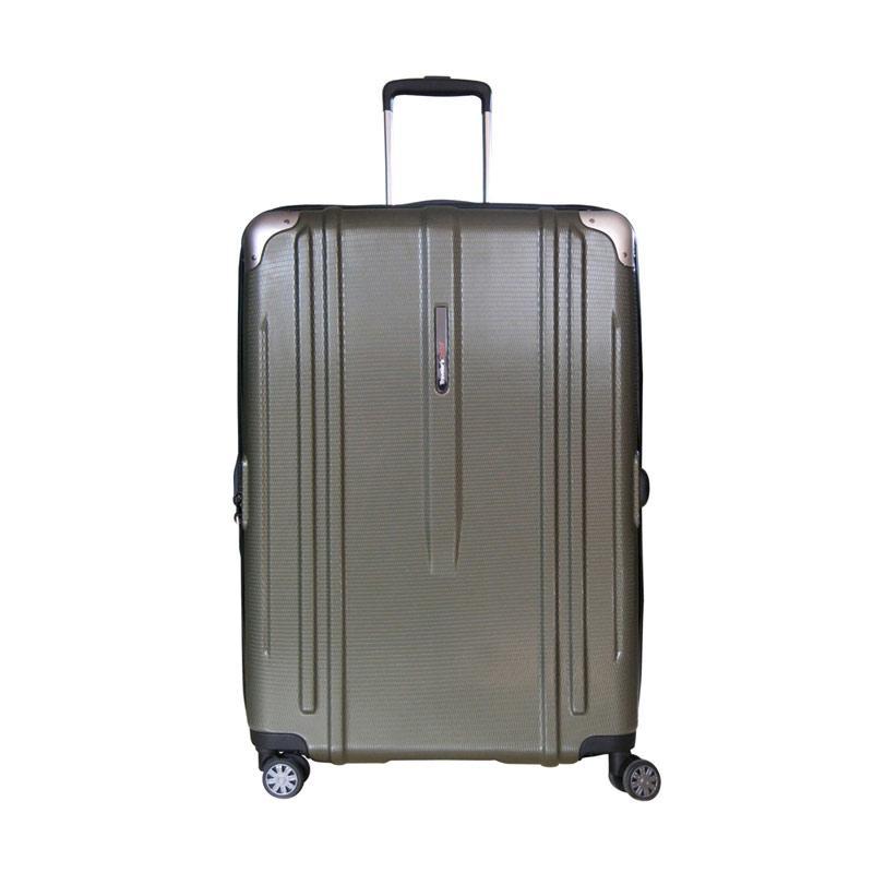 Traveler's Choice New London Hardcase Large Koper Hardcase Olive Green [29 Inch]