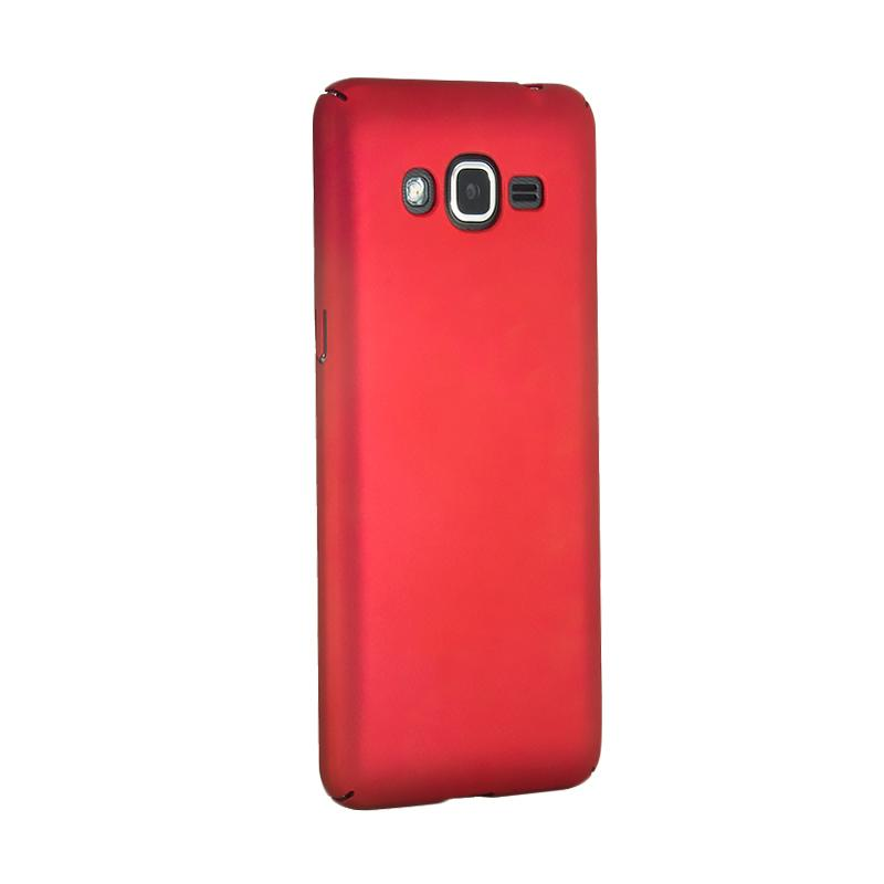 Fashion Baby Skin Ultra Thin Hardcase Casing for Samsung J2 Prime - Red