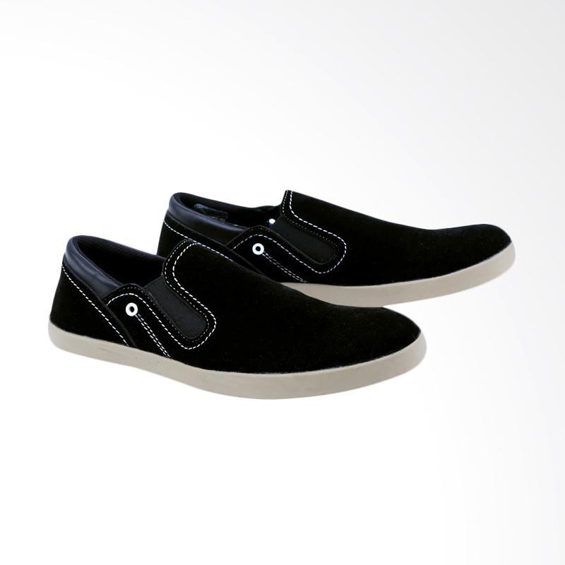 Garsel Sepatu Slip On Kasual Pria GUD 1614