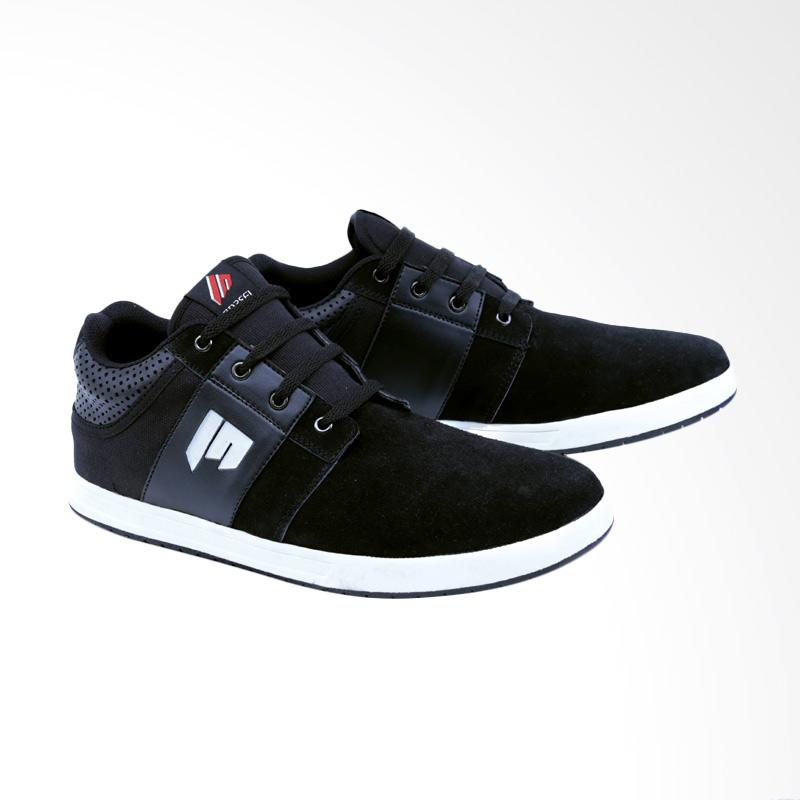 Garsel Sneakers Shoes Pria - Hitam GDG 1018