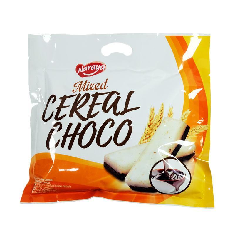 Naraya Mixed Cereal Choco Sereal Rasa Coklat [250 g]