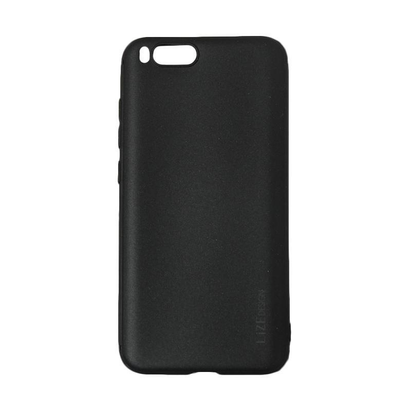 Lize Design Softshell Color Matte Softcase Casing for Xiaomi Mi 6 or Mi6 - Black