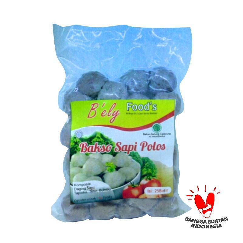 B'ely Foods Bakso Sapi Polos