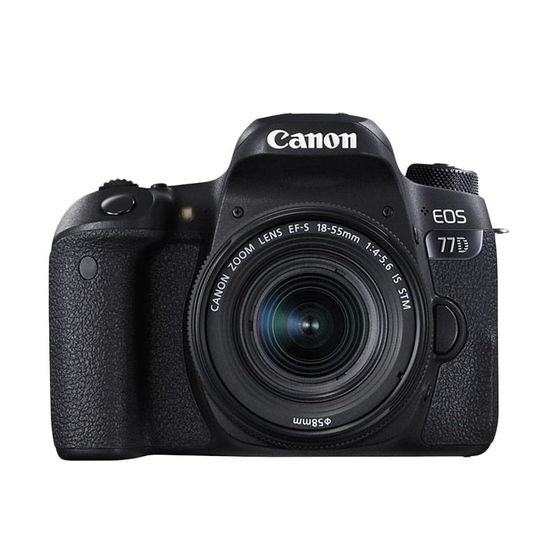 Canon EOS 77D Kit 18-55mm Wifi Kamera DSLR