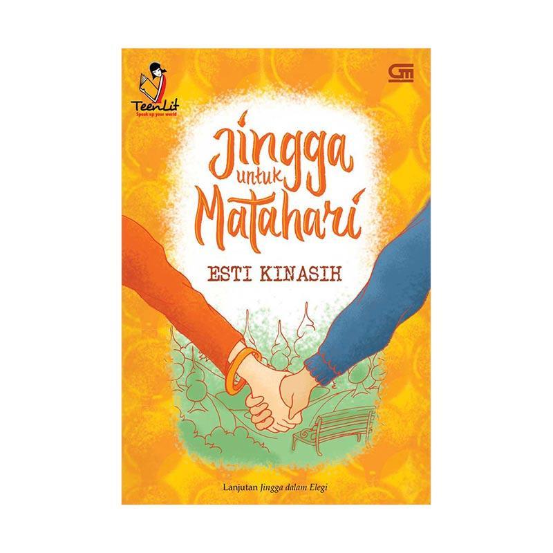 harga Gramedia Teenlit Jingga Untuk Matahari by Esti Kinasih Buku Novel Blibli.com
