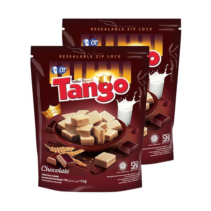harga Tango Pouch Chocolate Wafer [125 g/2 pcs] 5437 Blibli.com