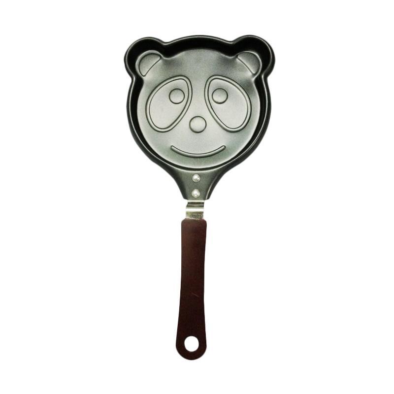 Chanel7 Karakter Panda Teflon Wajan Penggorengan Mini