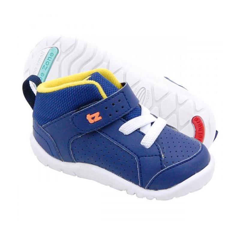 ToeZone Kids Orville Fs Sepatu Anak Laki-laki - Navy Yellow