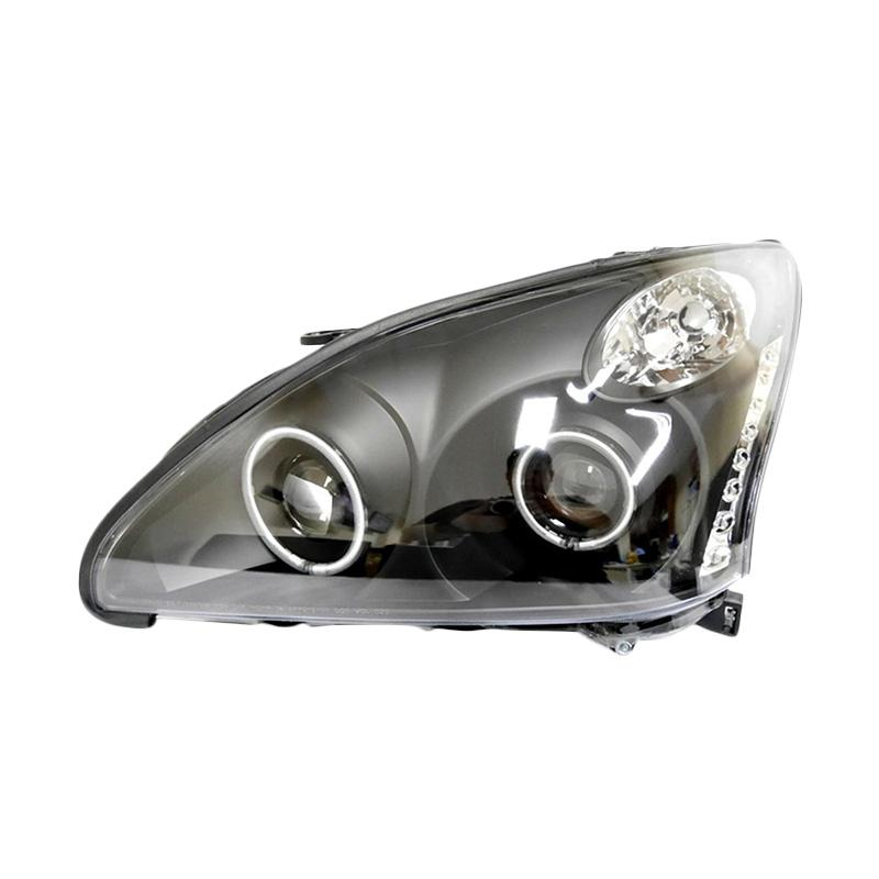 Eagle Eyes Headlamp for Lexus RX-330 or Harrier 04-12 - Black Housing
