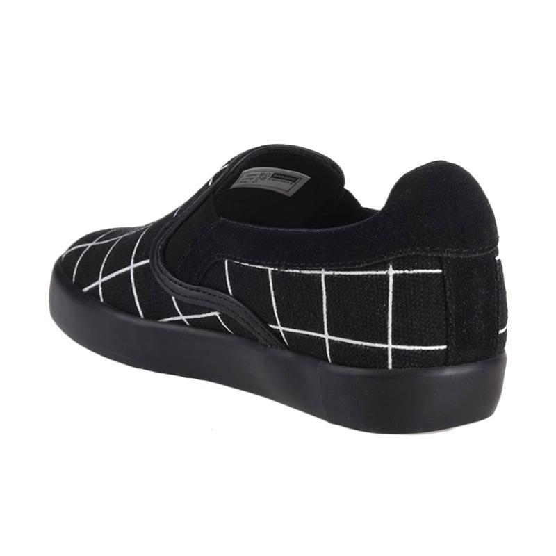 Jual Aixaggio Marco Canvas Grid Sepatu Anak Perempuan - Black White Online  - Harga   Kualitas Terjamin  b1a4536826