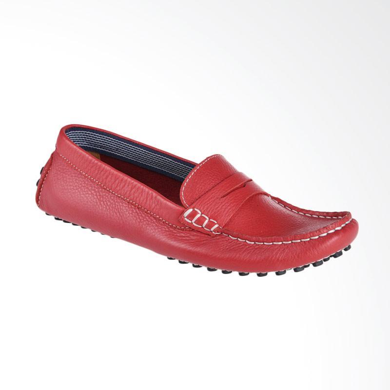 Aixaggio L-Sole Sepatu Anak - Dark Red