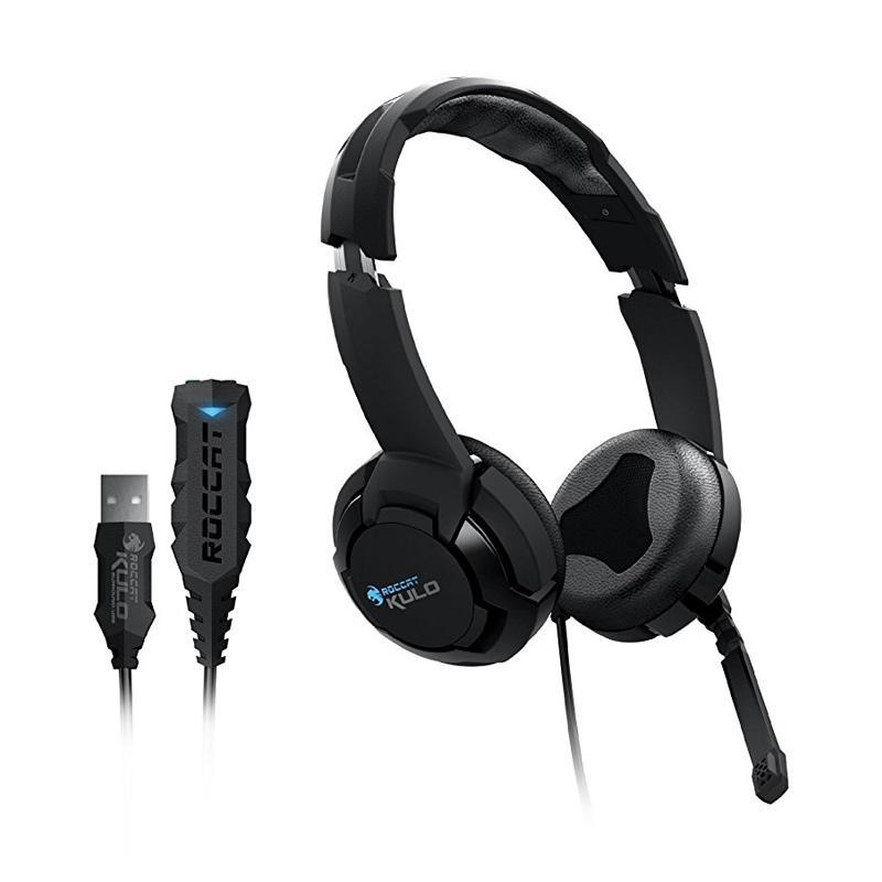 ROCCAT Kulo Stereo Headset Gaming - Black