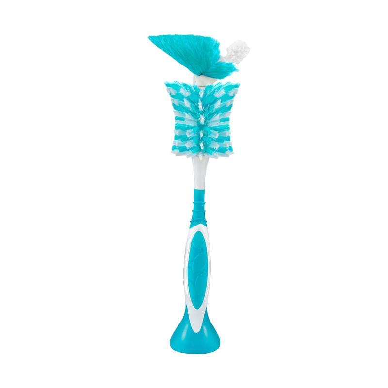 Born Free 2 in 1 Bottle Brush Sikat Botol Bayi - Blue