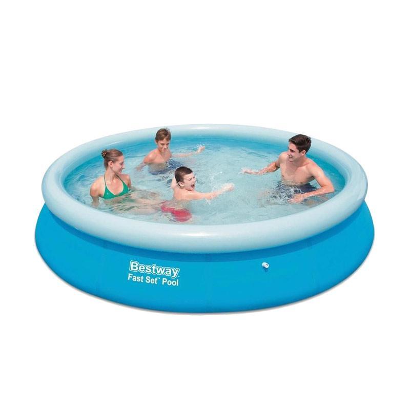 Bestway 57273 Fast Set Pool Kolam Renang [366 x 76 cm]