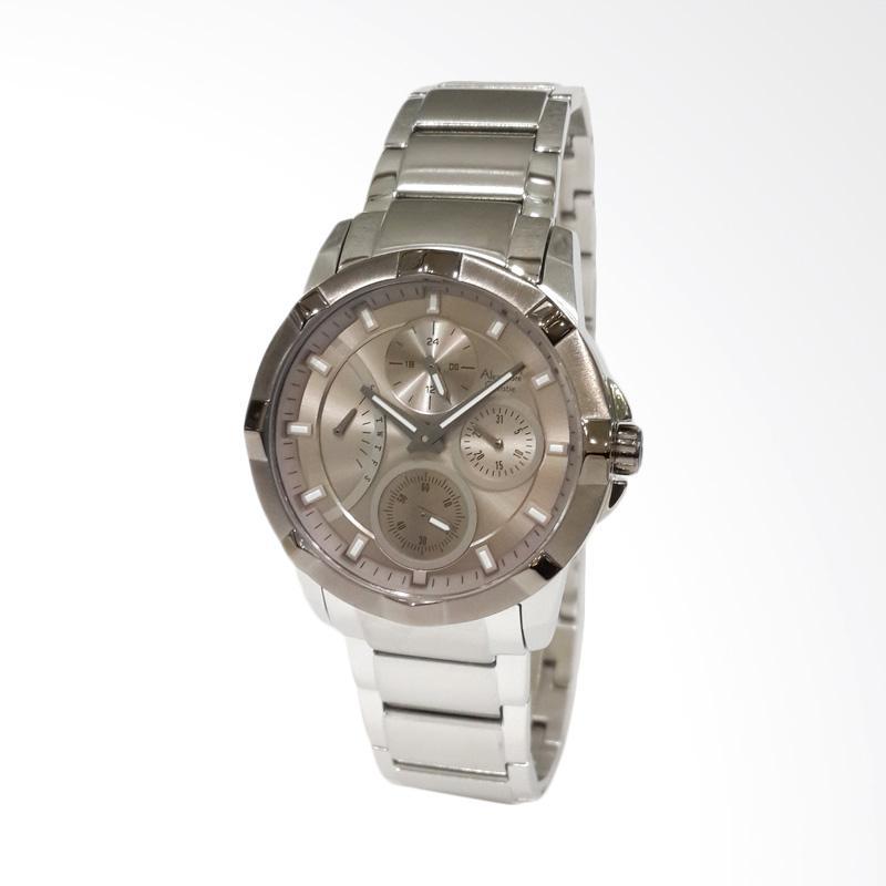 Spek Harga Alexandre Christie 2503BFBTZBO Stainless Steel Bracelet Jam Tangan Wanita Silver Terbaru .