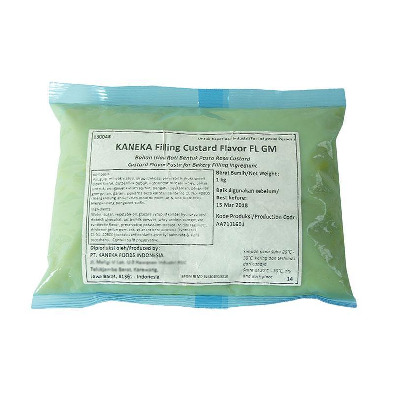 Kaneka FL GM Filling Custard Flavor Selai [1 kg]