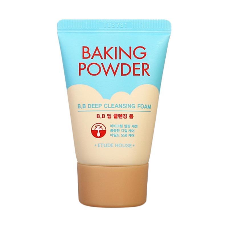 Etude House Baking Powder BB Deep Cleansing Foam Sabun Wajah 30 mL