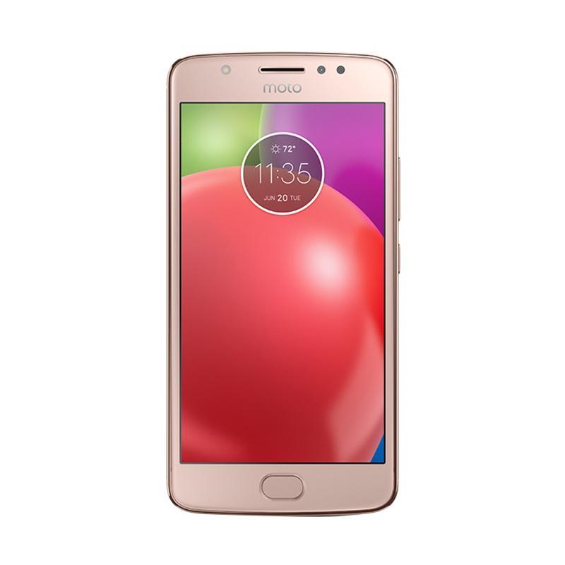 Motorola Moto E4 Smartphone - Blush Gold [16GB/2GB] + Sandisk Memory Card 16GB