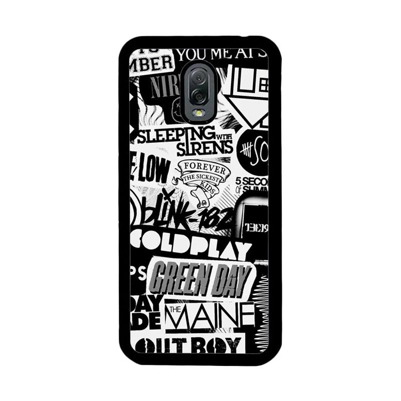 Flazzstore The Xx Coldplay Arctic Monkeys The Neighbourhood Sleeping With Sirens The 1975 Band Z0252 Custom Casing for Samsung Galaxy J7 Plus
