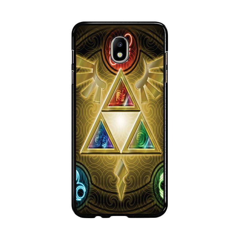 Flazzstore Zelda Triforce Element Z0152 Custom Casing for Samsung Galaxy J7 Pro 2017