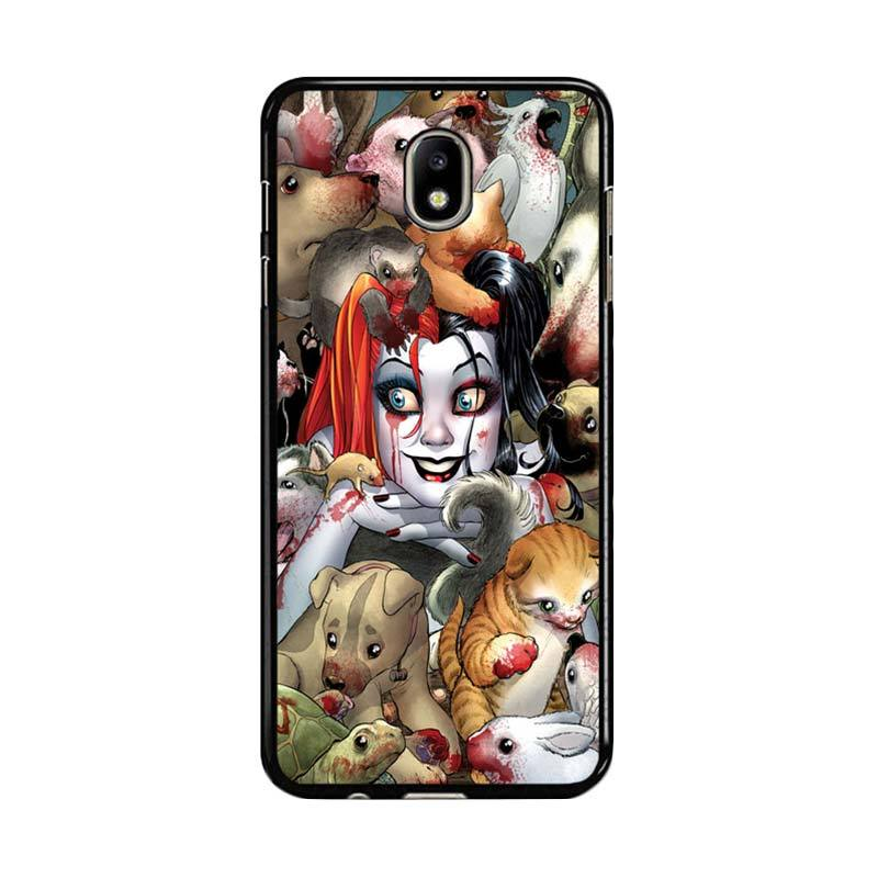 Flazzstore Harley Quinn Textless Z0242 Custom Casing for Samsung Galaxy J7 Pro 2017