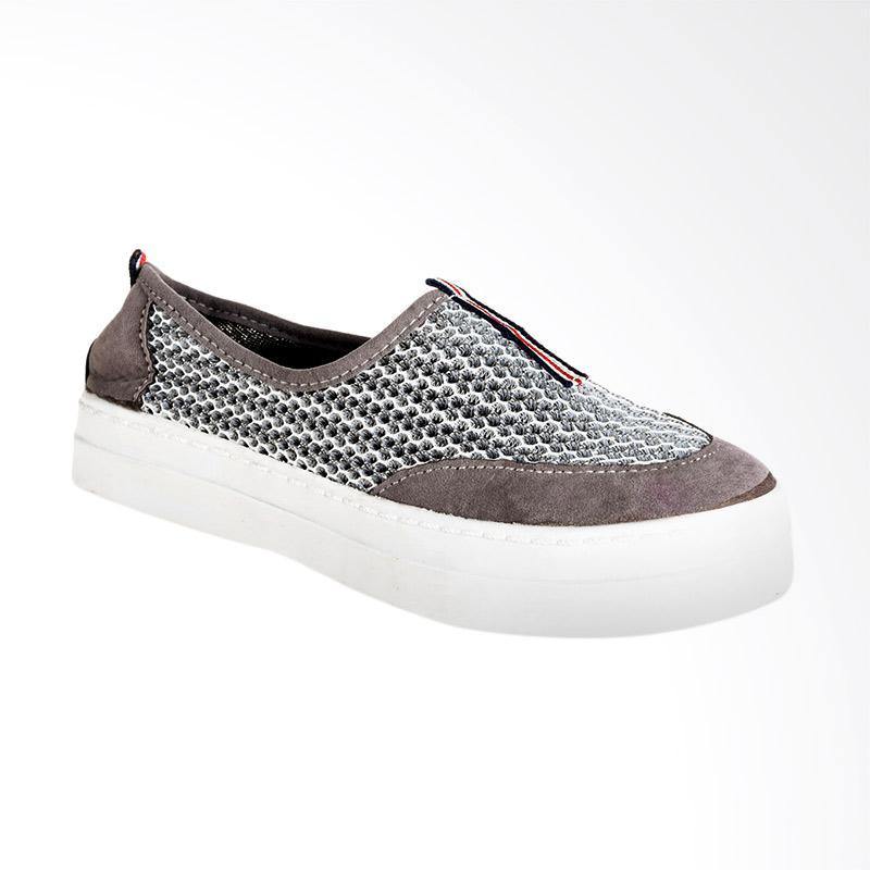A.C.C.E.P.T. Aretha Slip On Sepatu Wanita - Grey