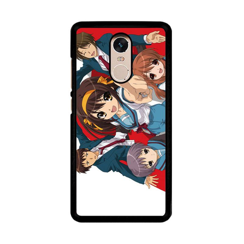 Flazzstore The Melancholy Of Haruhi Suzumiya Characters Z0792 Custom Casing for Xiaomi Redmi Note 4 or Note 4X Snapdragon Mediatek