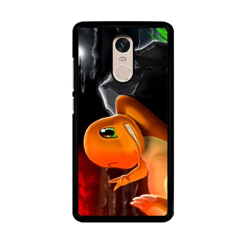 Flazzstore Charmeleon Pokemon Z1196 Custom Casing for Xiaomi Redmi Note 4 or Note 4X Snapdragon Mediatek