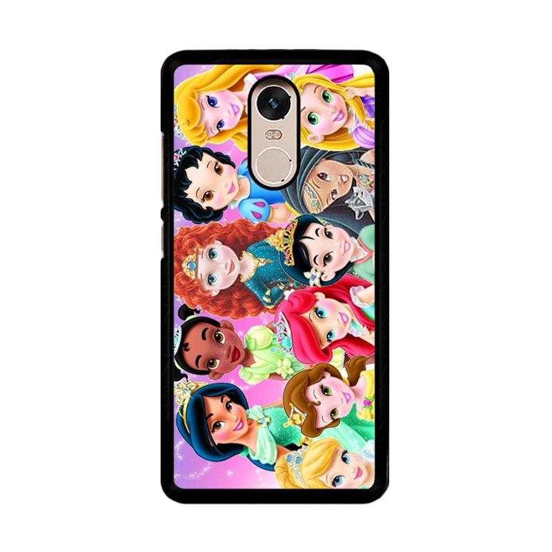 Flazzstore Baby Disney Princess Compilation Z1420 Custom Casing for Xiaomi Redmi Note 4 or Note 4X Snapdragon Mediatek