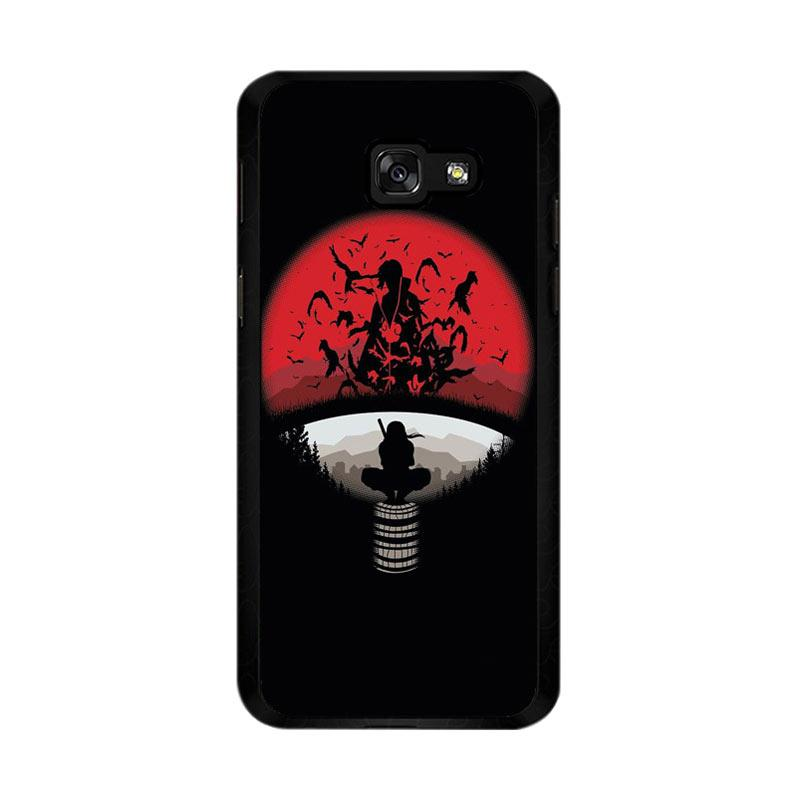 Flazzstore Uchiha Clan Symbol mashup with Itachi O0420 Custom Casing for Samsung Galaxy A5 2017