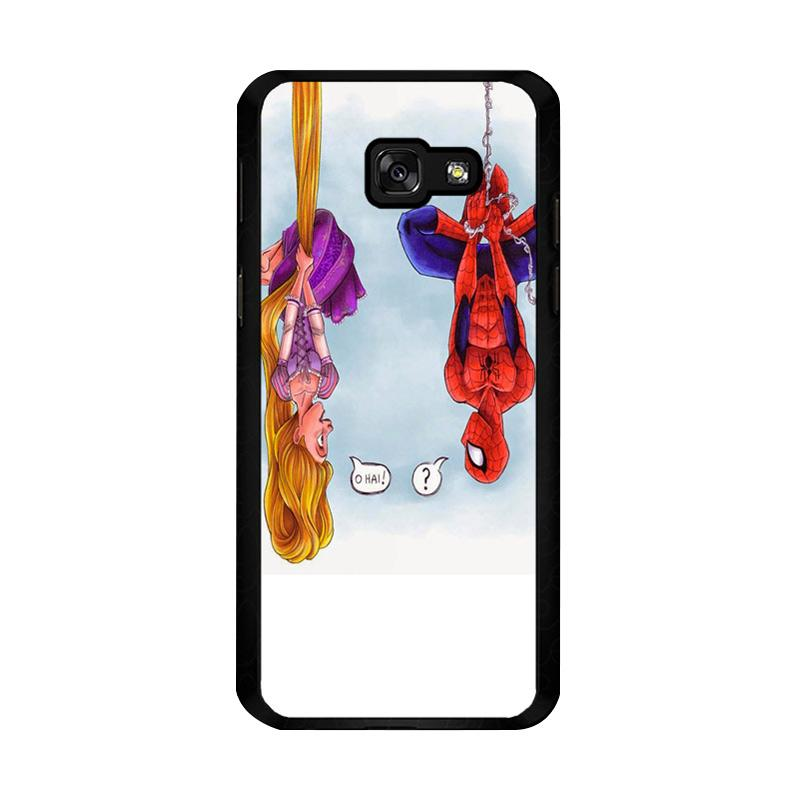 Flazzstore Disney Tangled And Spiderman F0399 Custom Casing for Samsung Galaxy A5 2017