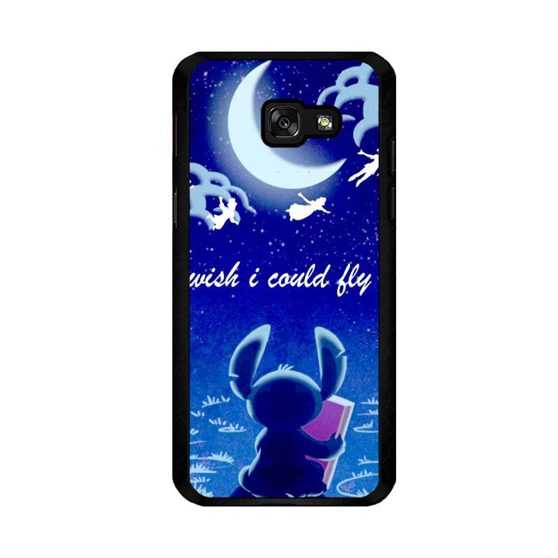 Flazzstore Hawaiian Culture In Stitch-Peter Pan Flying Quote Design F0842 Custom Casing for Samsung Galaxy A5 2017