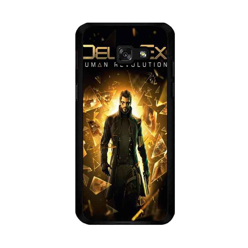 Flazzstore Deus Ex Human Revolution F0854 Custom Casing for Samsung Galaxy A5 2017