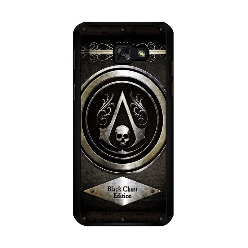 Flazzstore Assassins Creed Black Flag Logo Z0067 Custom Casing for Samsung Galaxy A5 2017