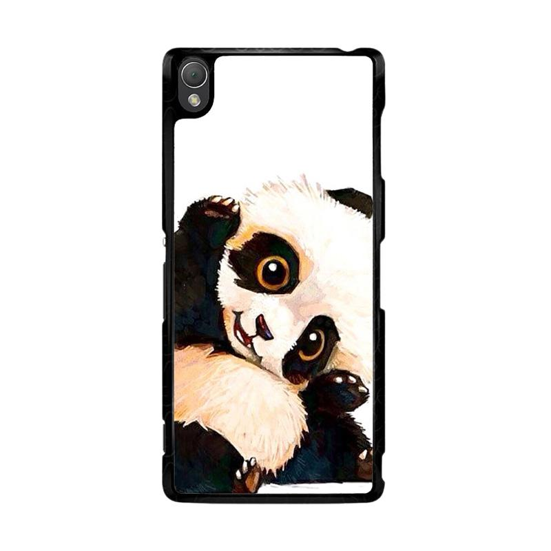 Flazzstore Panda Paint O0435 Custom Casing for Sony Xperia Z3