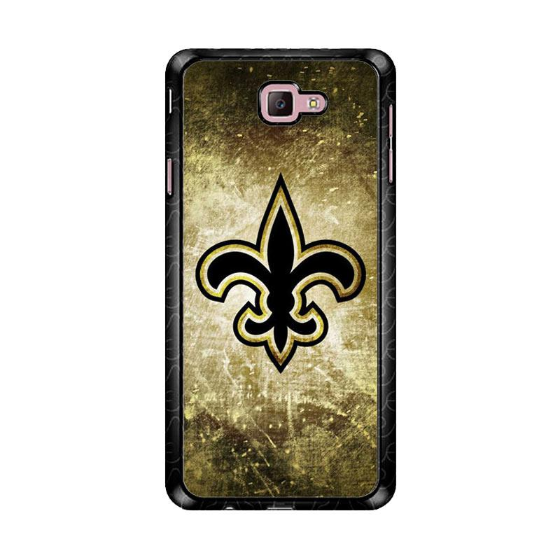 Flazzstore New Orleans Saints Gold Z4895 Custom Casing for Samsung Galaxy J7 Prime