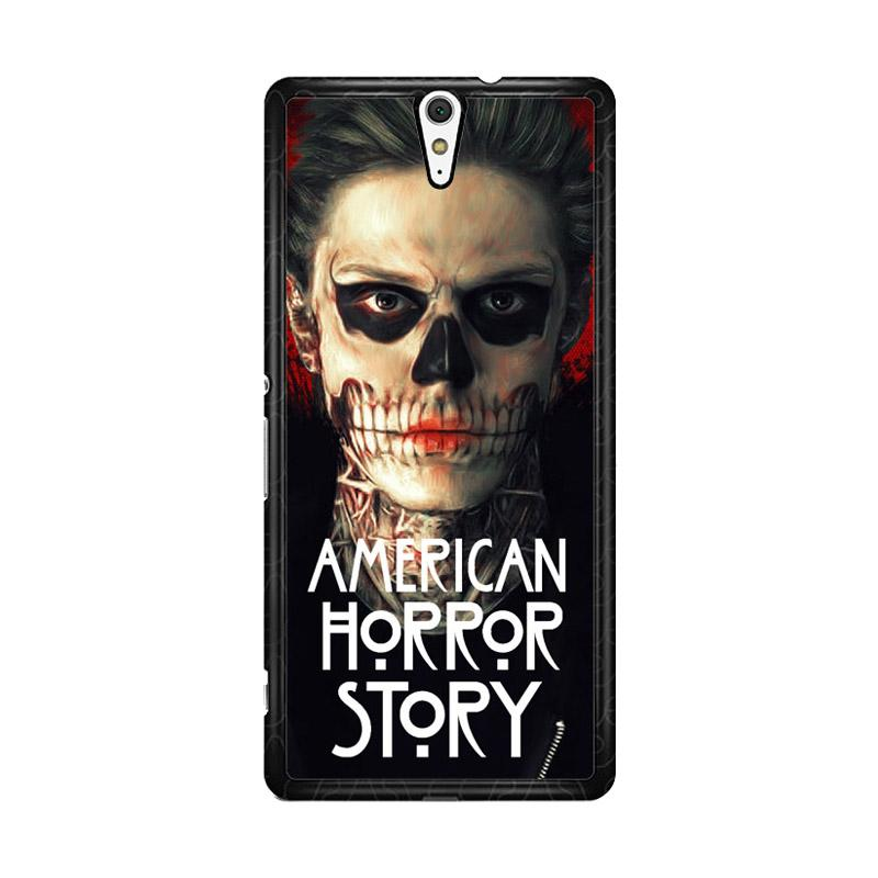 Flazzstore American Horror Story Face F0864 Custom Casing for Sony Xperia C5 Ultra