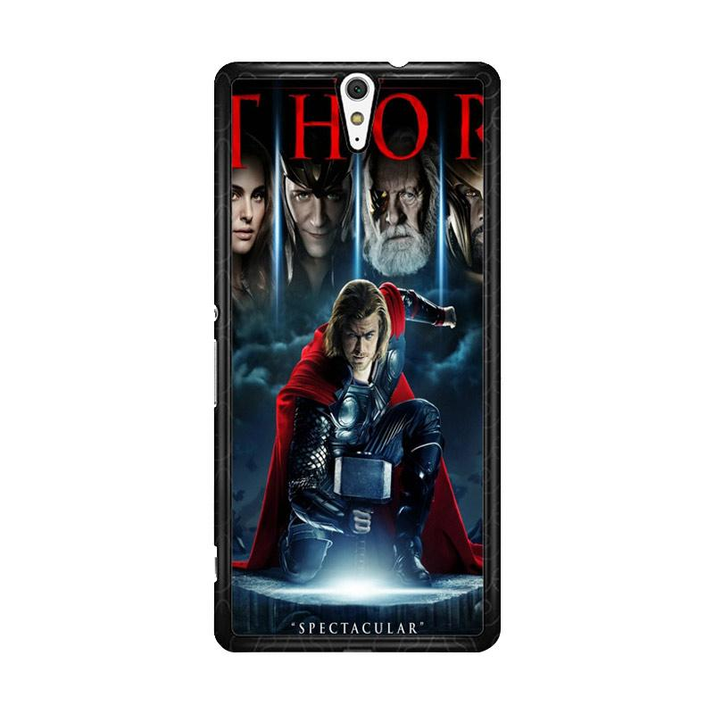 Flazzstore Thor Marvel F0811 Custom Casing for Sony Xperia C5 Ultra